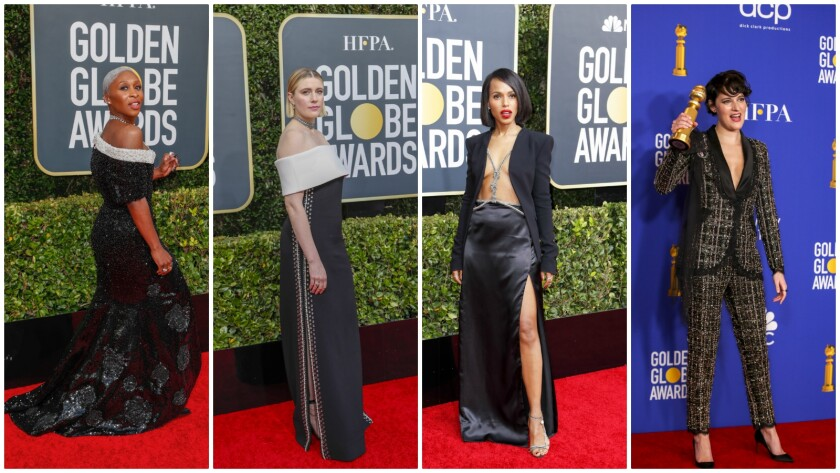On-trend looks at the 2020 Golden Globes