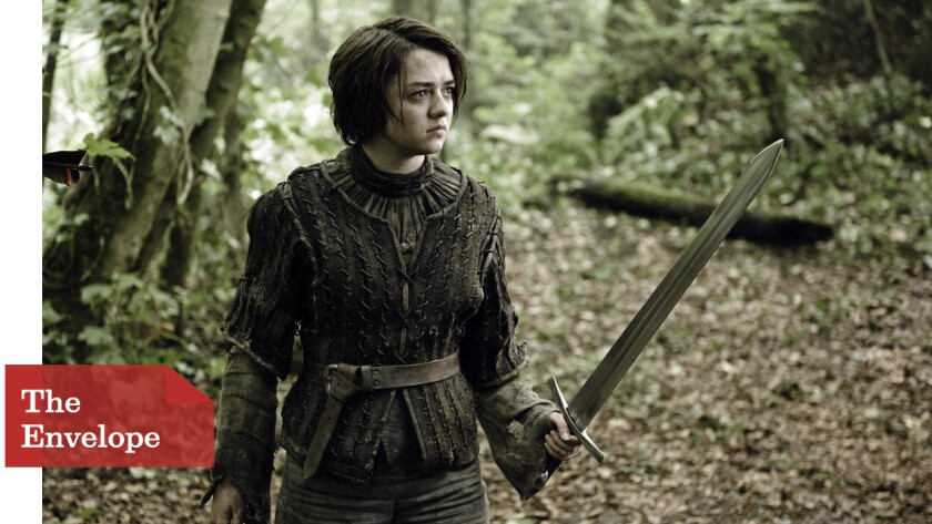 """When fans noted the left-handedness of the character in the books, """"Game of Thrones"""" actress Maisie Williams took their direction for Arya Stark."""