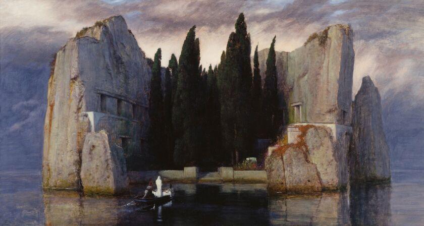 "Arnold Boecklin's ""The Isle of the Dead"""