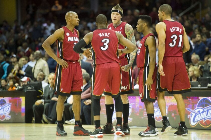 The Miami Heat have won 24 consecutive games.