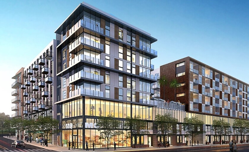 Broadstone Makers Quarter apartments is expected to be completed early next year.