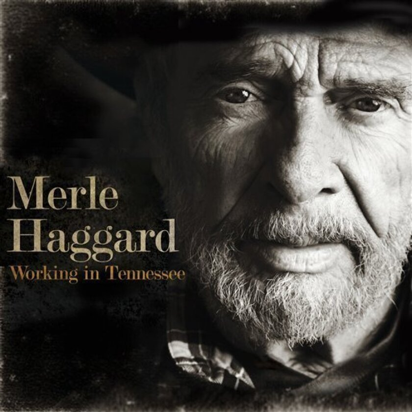"In this CD cover image released by Vanguard, the latest release by Merle Haggard, ""Working in Tennessee,"" is shown. (AP Photo/Vanguard)"
