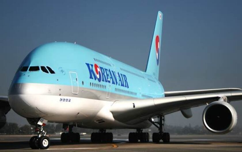 South Korean flight attendant developed coronavirus symptoms after leaving Los Angeles