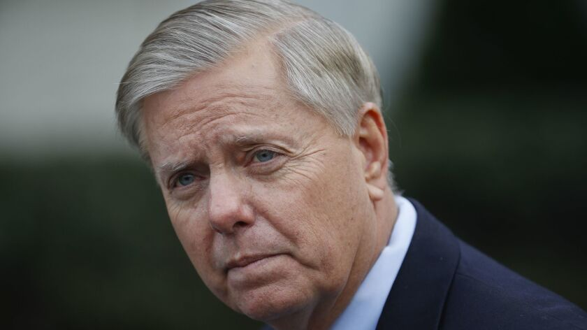 Sen. Lindsey Graham argued for reopening the government.