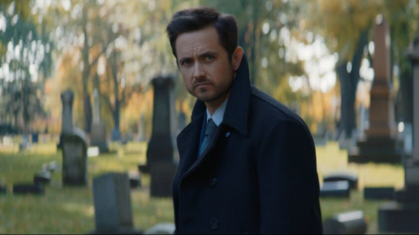 """Justin Chatwin in the movie """"The Assassin's Code."""""""