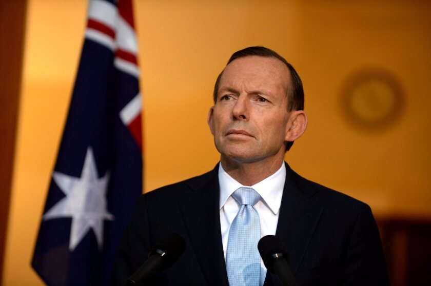 Australian Prime Minister Tony Abbott has delivered on election promises to repeal a carbon tax and loosen environmental regulation -- much to the dismay of conservationists.
