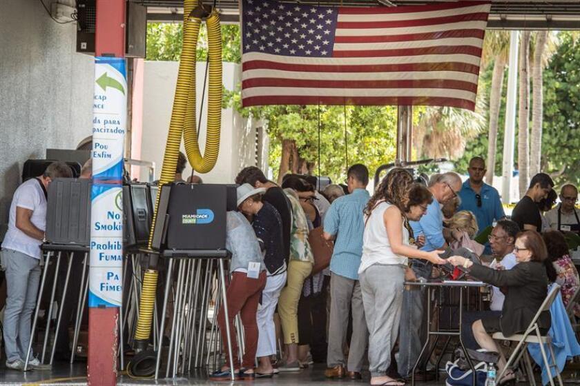 El Gobierno de Florida debe hoy anunciar los resultados finales de las elecciones intermedias celebradas el pasado martes, que han derivado en demandas judiciales y críticas por las demoras en el escrutinio de votos. EFE/Archivo