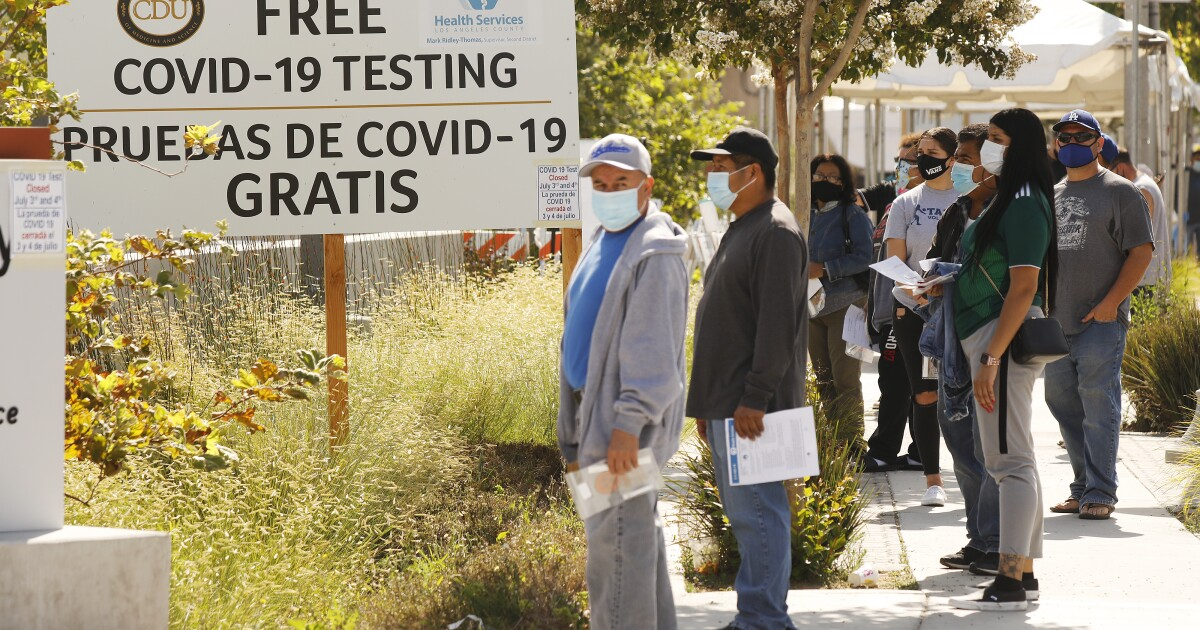 Half of California counties now on coronavirus watchlist