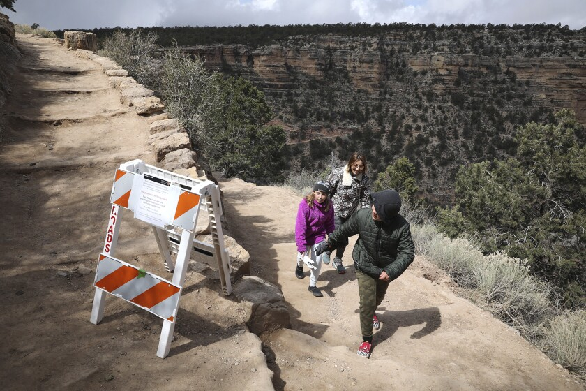 Virus Outbreak Grand Canyon