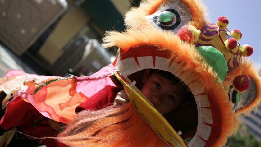 Rain or shine, the annual San Diego Chinese New Year Food and Cultural Fair happens in downtown San Diego this weekend.