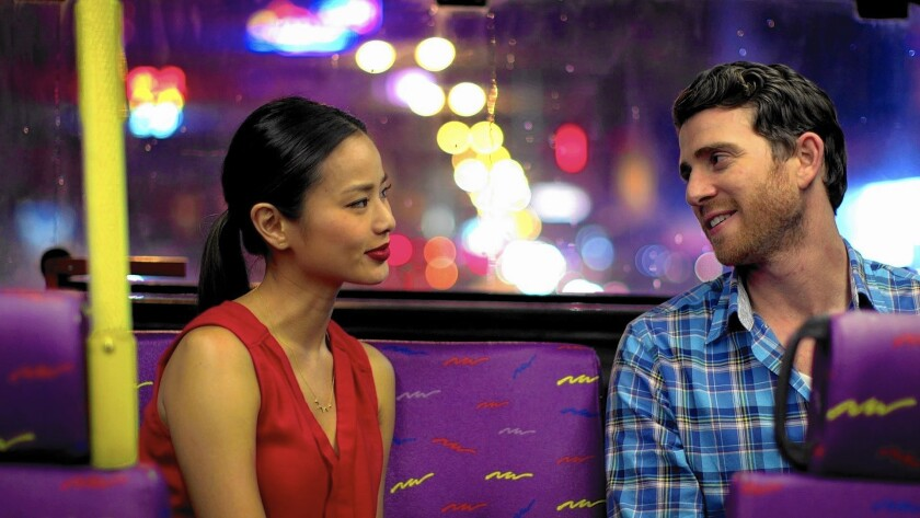 Ruby (Jamie Chung) and Josh (Bryan Greenberg) hit it off in this vibrant, immensely likable rom-com.