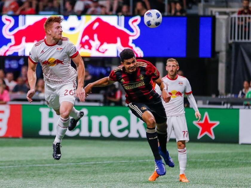 El equipo neoyorquino, que acabó la temporada regular con la mejor marca de la Liga Profesional de Fútbol de Estados Unidos (MLS) al conseguir un récord de 71 puntos, cayó eliminado por el Atlanta United en la final de la Conferencia Este. EFE/Archivo