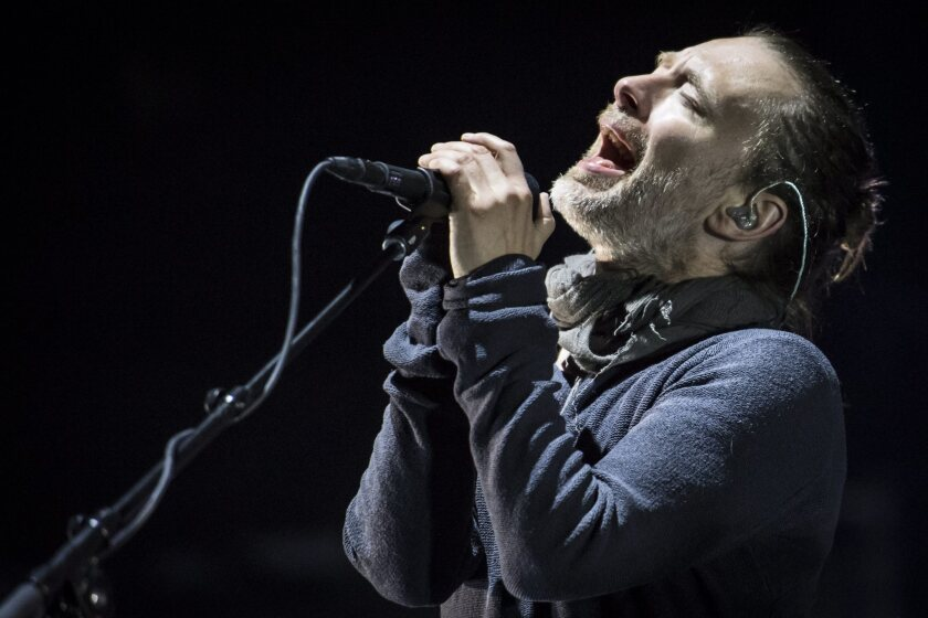 """Radiohead's Thom Yorke takes a deep dive into the raw emotions of loss in the band's riveting new album, """"A Moon Shaped Pool."""""""