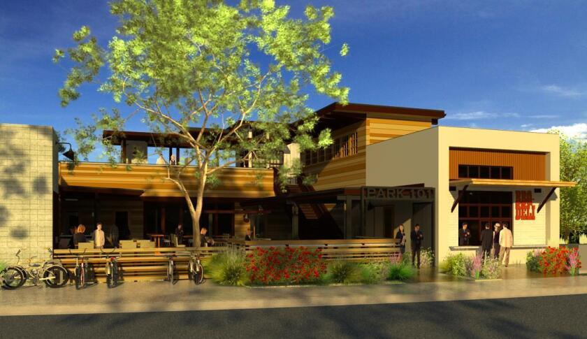 Park 101, a multilevel dining destination, will open in Carlsbad in February.