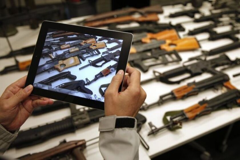 Gun background check compromise: More NRA fear mongering
