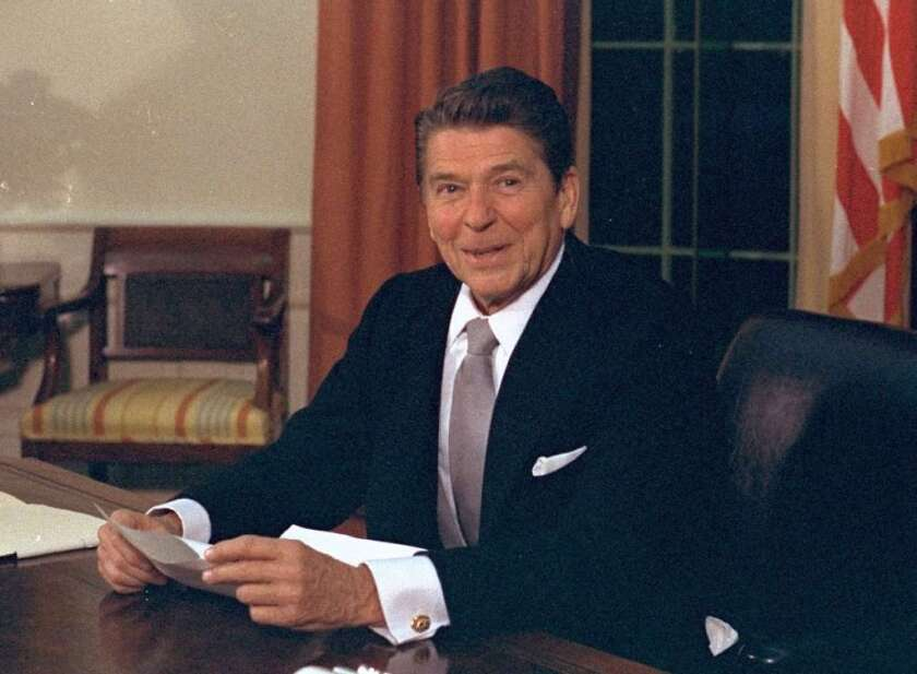 Reagan didn't like 666 either