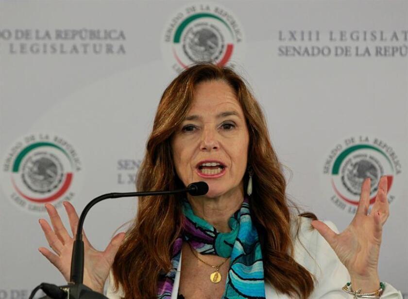 La copresidenta de la Comisión Parlamentaria Mixta Unión Europea-México, Teresa Jiménez Becerril. EFE/Archivo