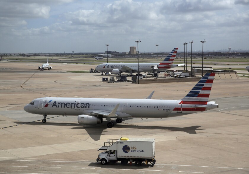 Nishal Sankat allegedly tried tried to steal an American Airlines jet (not pictured) Thursday.
