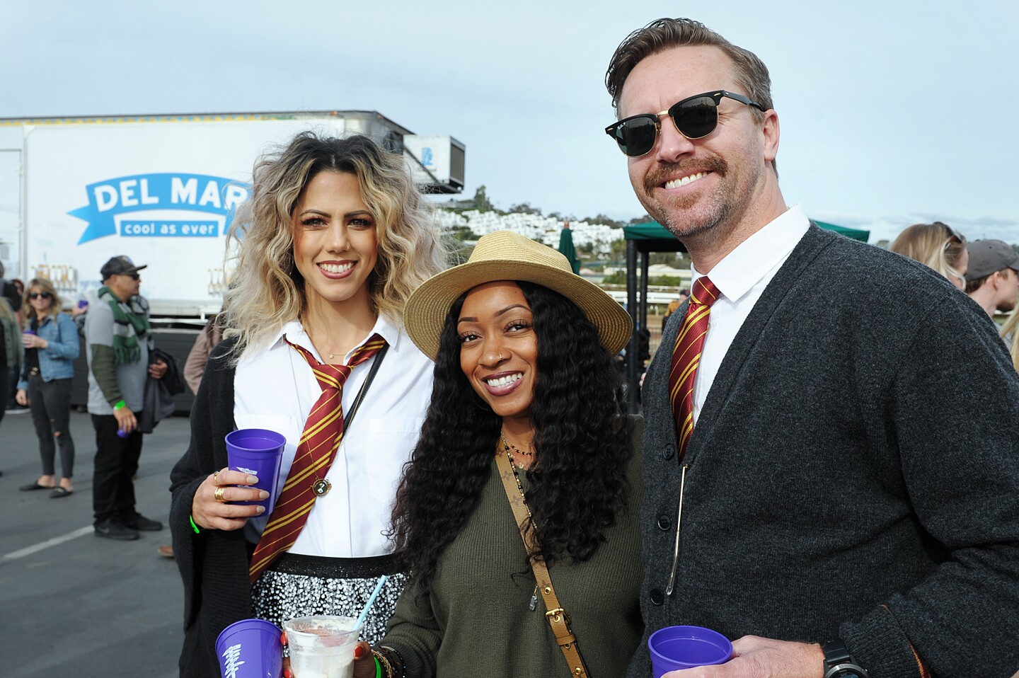 Slytherins, Hufflepuffs and everyone in between were welcome at the Wizards Beerfest at the Del Mar Racetrack on Saturday, Nov. 30, 2019.