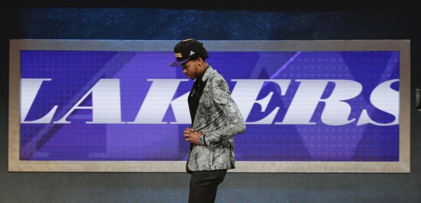 Brandon Ingram, Lakers' top pick, ready to join rebuilding process