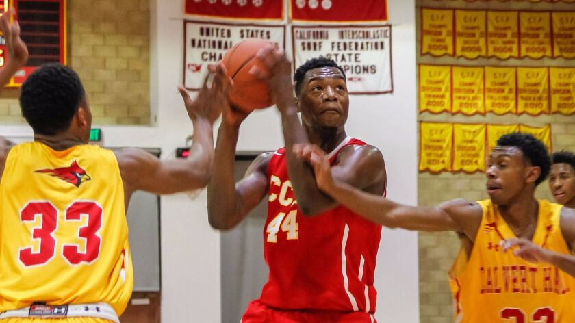 Cathedral Catholic's Brandon McCoy scored 41 points in the Dons' playoff win over Grossmont.