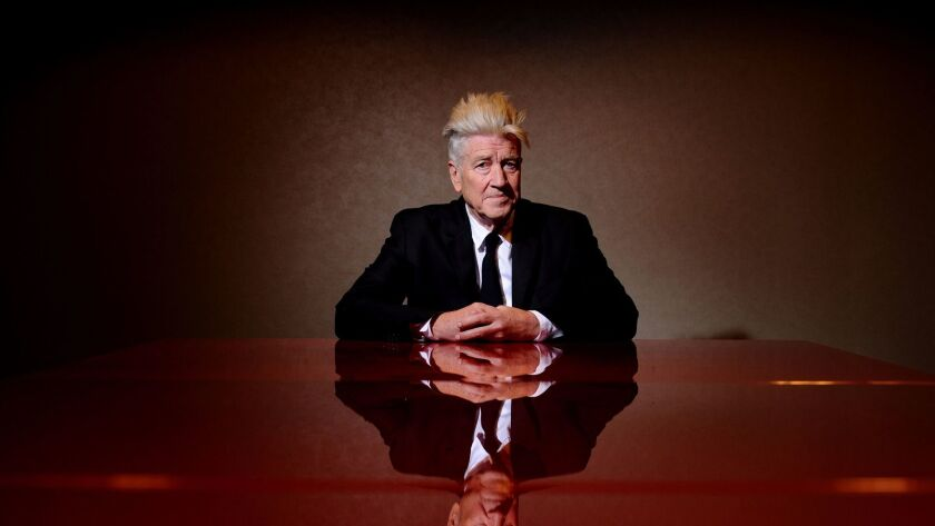Directoer and producer David Lynch