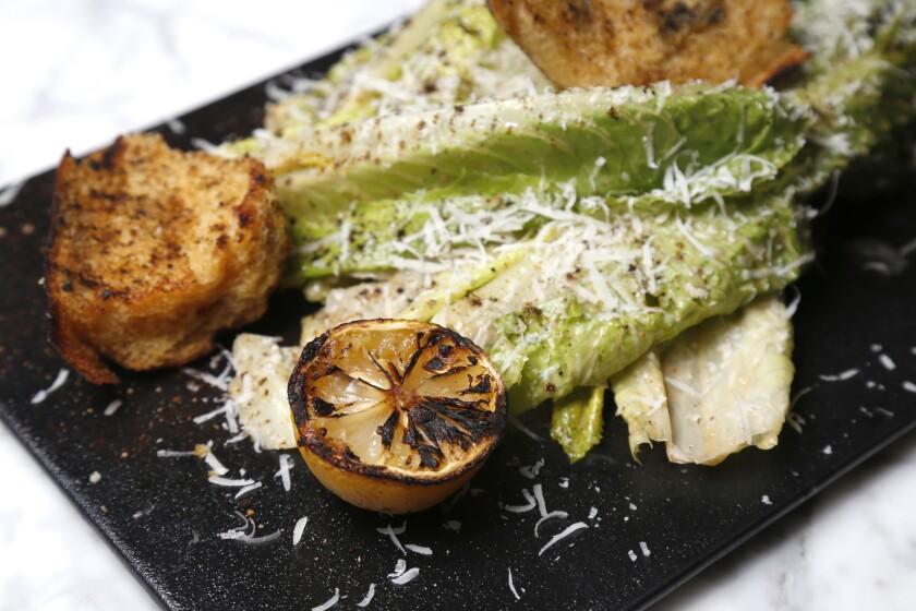 Lola 55's Caesar Salad called Lola's Caesar.