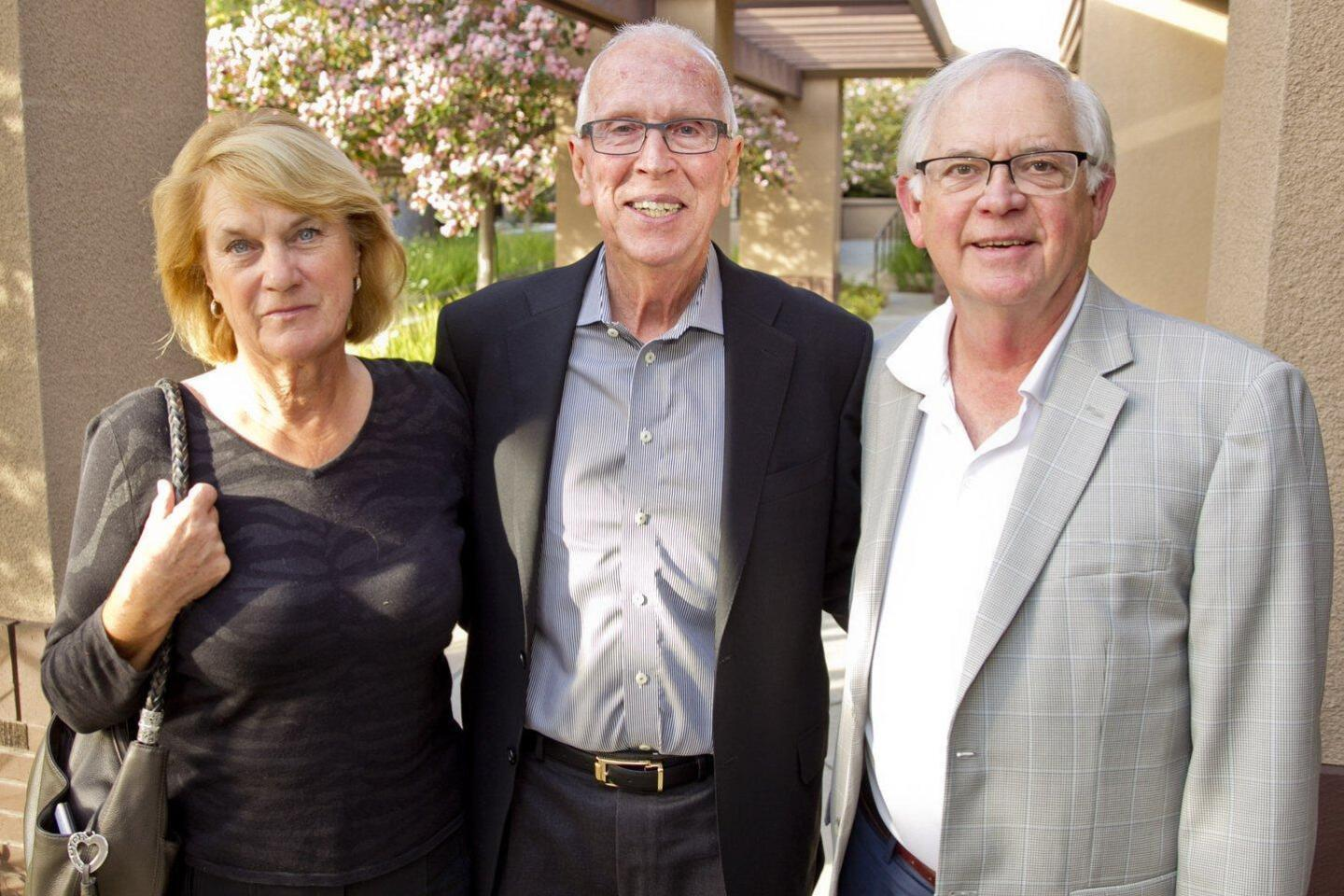 Accomplished retired SDSU Basketball Coach Steve Fisher speaks at Village Viewpoints event