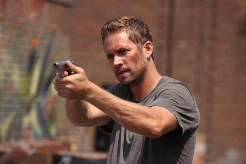 """Paul Walker stars in """"Brick Mansions,"""" out this weekend."""