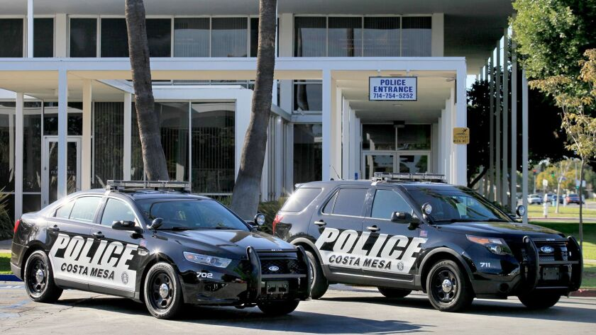 COSTA MESA, CA, December 4, 2013 -- The Costa Mesa Police Department has added 10 new vehicles, each