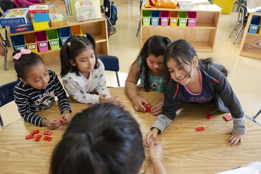 Esperanza Elementary math game