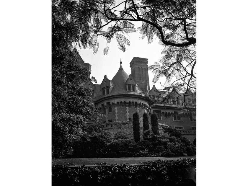 Mary Andrews Clark Memorial Home built in 1913 was for years a YWCA. This photo appeared in the Nov.