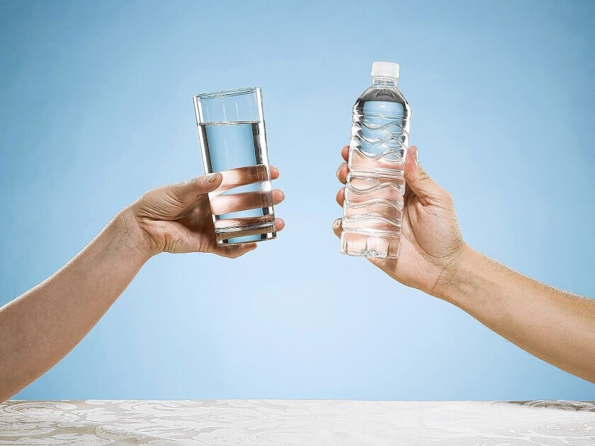 Drinking water to help lose weight