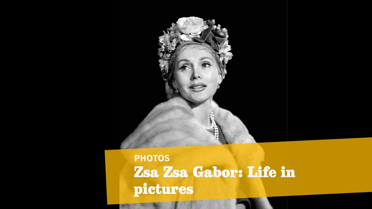 Hungarian-born actress Zsa Zsa Gabor, photographed in Budapest circa 1940.