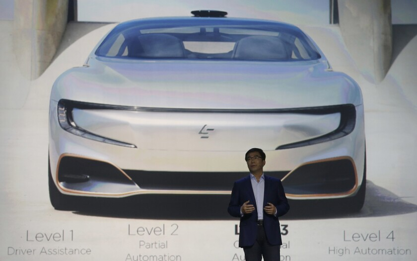 LeEco co-founder Lei Ding