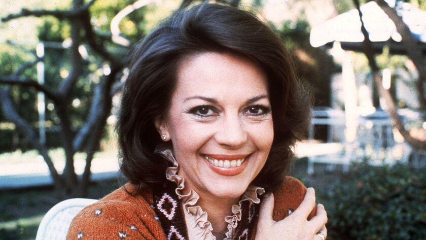 Actress Natalie Wood in 1981.