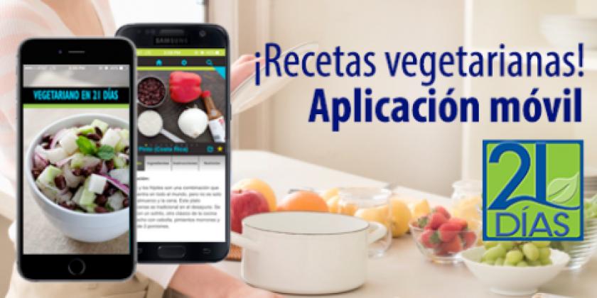 El Comité de Médicos por una Medicina Responsable (PCRM, por sus siglas en inglés) anunció esta semana la nueva aplicación, que ofrece recetas vegetarianas para ayudar a la gente que quiere cambiar su dieta y comer de una manera más saludable pueda hacerlo.