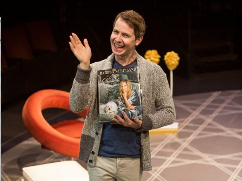 David Turner plays Alex More in 'Buyer & Cellar.'