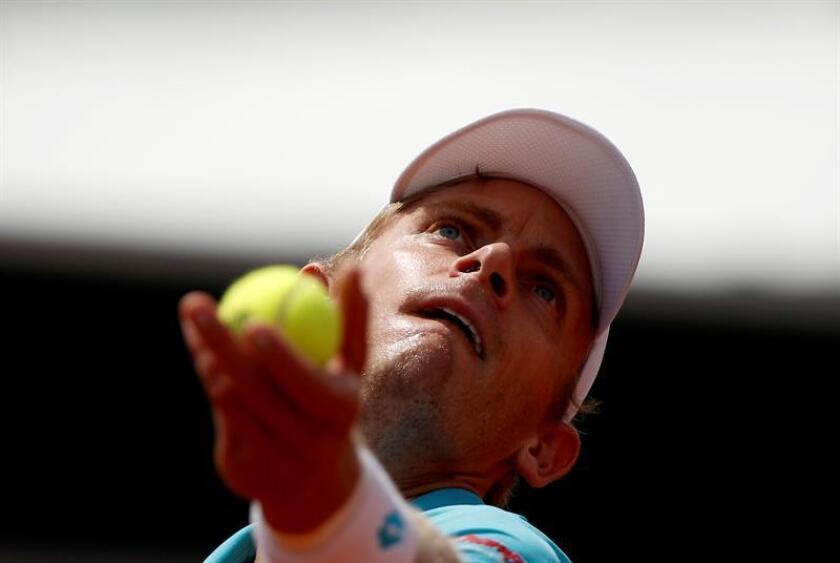 Imagen de archivo del tenista Pablo Cuevas. EFE/Archivo