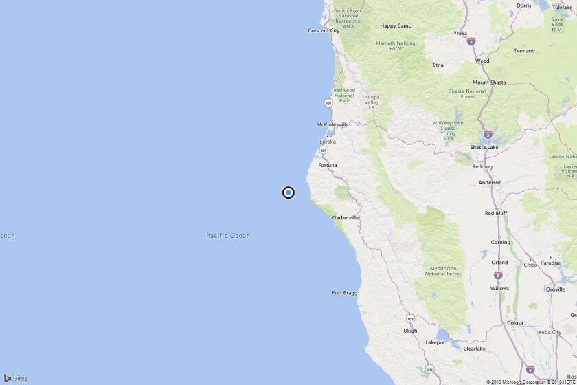 Earthquake: 3.3 quake strikes near Capetown, Calif.