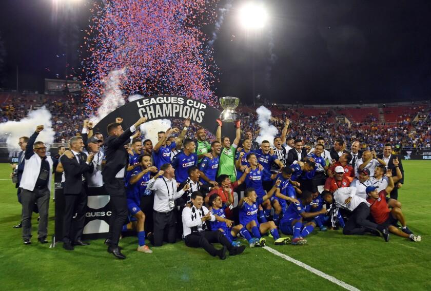 Cruz Azul gana la primera edición de la Leagues Cup.