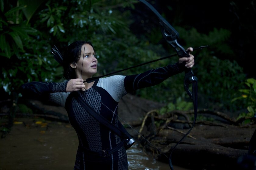"""Jennifer Lawrence in """"The Hunger Games: Catching Fire."""""""
