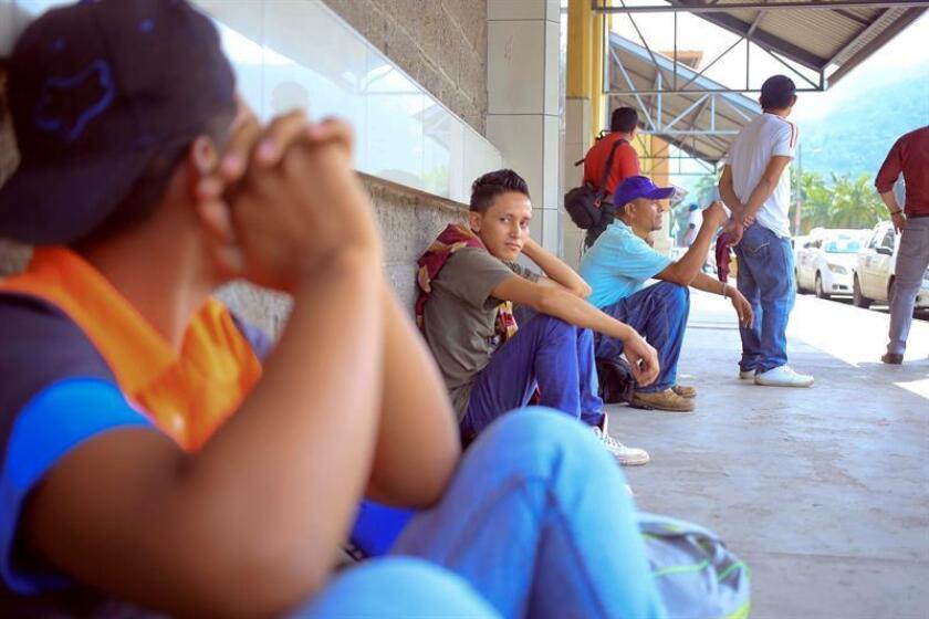 """La Dirección de Niñez, Adolescencia y Familia de Honduras considera importante """"recopilar cada una de estas experiencias"""" que permitan elaborar """"un nuevo protocolo de atención para niñez migrante no acompañada"""". EFE/Archivo"""
