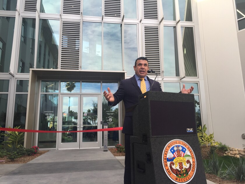 Nick Macchione, director of the county's Health and Human Services Agency.