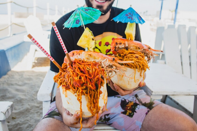 It's all about the noodles — and Snoop Dogg — at Nood Beach festival in Huntington Beach
