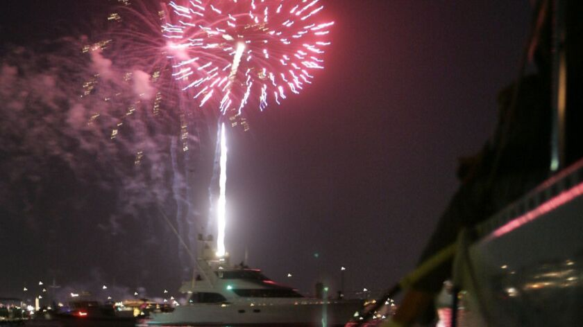 Where to watch 4th of July fireworks shows in the L A  area