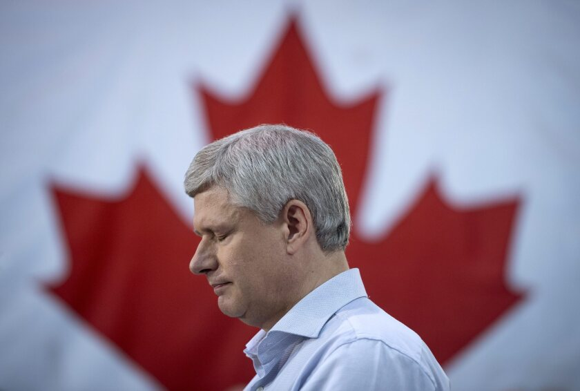 APphoto_Canada Federal Election Conservatives