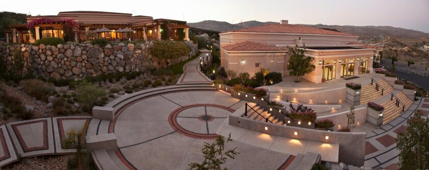 Gourmet restaurant Asao shares a tranquil Tecate hillside with its sister conference center and newly opened hotel.