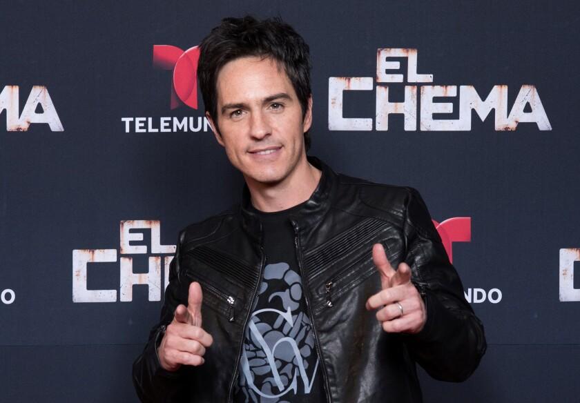 """Mauricio Ochmann encabezó el desfile de estrellas en el lanzamiento de """"El Chema"""""""