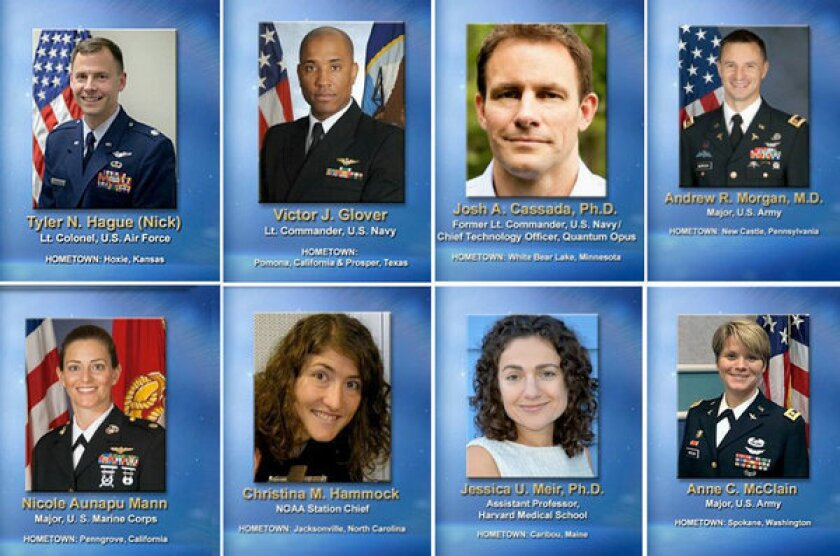 These eight accomplished folks are NASA's newest astronauts in training.
